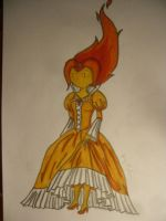 Flame princess by xxMeli