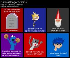T-Shirts by LukeStrife5
