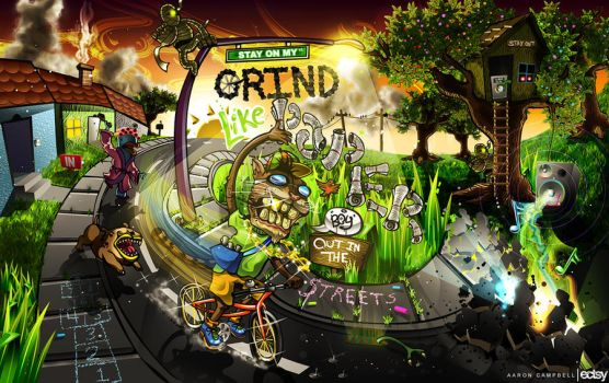 Stay On My Grind by Ecstatic-ectsy