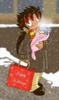 Snow Shopping by runeechan