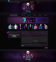 Teen Wolf WordPress Theme by R21Art