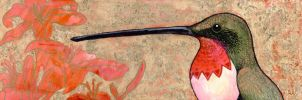 Klimt's Hummingbird by ursulav