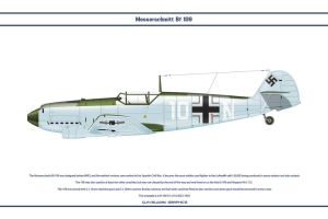 Bf 109 D-1 JG52 1 by WS-Clave