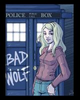 Doctor Who fanart - Rose Tyler by chaaar