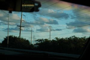 Power Lines Stretching Further by enigmotion