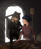 ML: The Thief and the Baker's Son by Yaushie