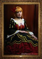 Umineko Cosplay: Portrait of the Golden Witch by Redustrial-Ruin