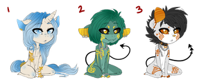 Adoptables 09 CLOSED EARLY/ALL AUTO-BOUGHT by SC00TAH