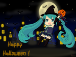 The little witch Hatsune Miku by Rezaforum