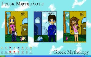 Greek Mythology OC Screensaver