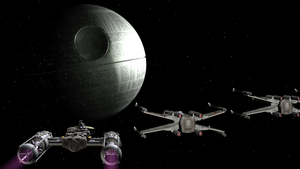 Death star approach by enterprisedavid