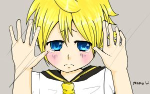 Kagamine Len - Please Let Me Out by momochanx