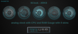 SClock-ARKS 1.1 by d4fmac
