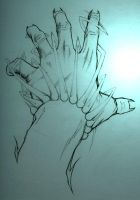 Hand Study 3 by ethician