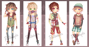 [CLOSED!] Troublemaker Boys by reitadopts