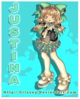 +Chibi Justina+ by Crissey