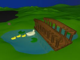 The Real Pond by Etrocal