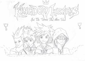kingdom hearts 2 by MaqiChanThunder