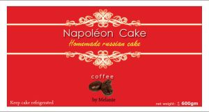 NapoleanCake Packagingsticker by manteraku