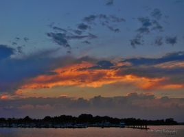 Sunset ,Traders Cove, Brick  NJ, 7-21-2015,8:12pm by KMG-Photography-NJ