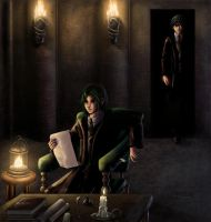HP: Snape and James for 5555 by animetayl