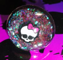 Monster High Dome Ring by JoshsPonyPrincess