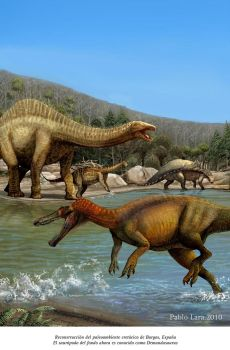 Cretaceous Spain by pabluratops