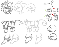 How I draw Scorplins by dexikon