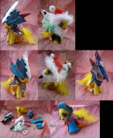 Chocobo outfits- FF Fables Chocobo Dungeon by LightningSilver-Mana