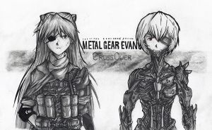 Metal Gear Evangelion by KharnBetrayer
