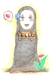 Hello by alydicea
