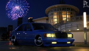 Mercedes Benz W201 by ChitaDesigner