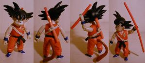 DragonBall Magic cane Goku Kid by pgv