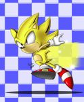 Classic Super Sonic by chickenoverlord