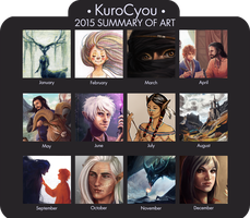 2015 Summary of Art by KuroCyou
