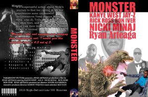Monster DVD Cover Project by Ryanx2