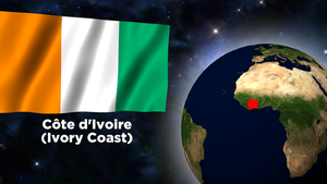 Flag Wallpaper - Cote d'Ivoire (Ivory Coast) by darellnonis