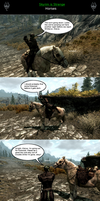Skyrim is Strange - Horses by HelloMyNameIsEd