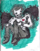 Winged Zacharie by NeonStraightJacket