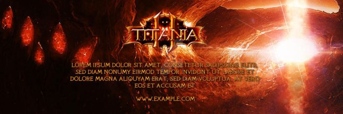 Titania2 - Banner 02 by weredesign