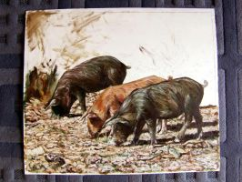 Three little pigs WIP 3 by delph-ambi