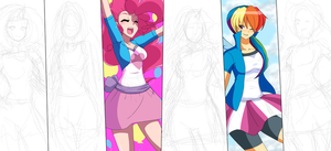 Equestria Girls WIP by Ninja-8004