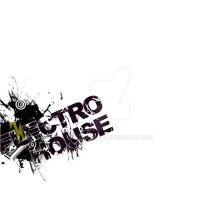 ELECTRO house. by vecta-art