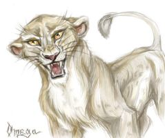 Lioness by OmegaLioness