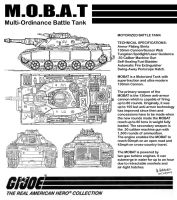 GIJOE MOBAT Multi-Ordinance Battle Tank by archaznable30