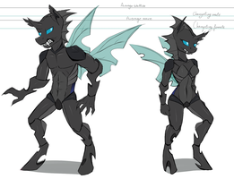 Anthro Changeling concepts by HarmoniousRain