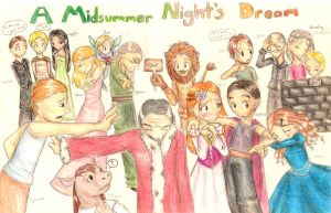 A Midsummer Night's Dream by Yoccuri