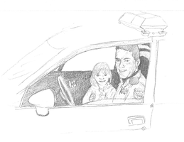 My dad and me by Alisha-town