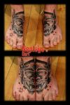 demon face by NephtysTattoo