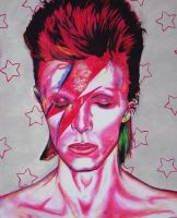 Ziggy Stardust Number 1 by CHAINSAW-ZOMBIE